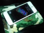 "Smartphone Pillow  ""Camouflage"""